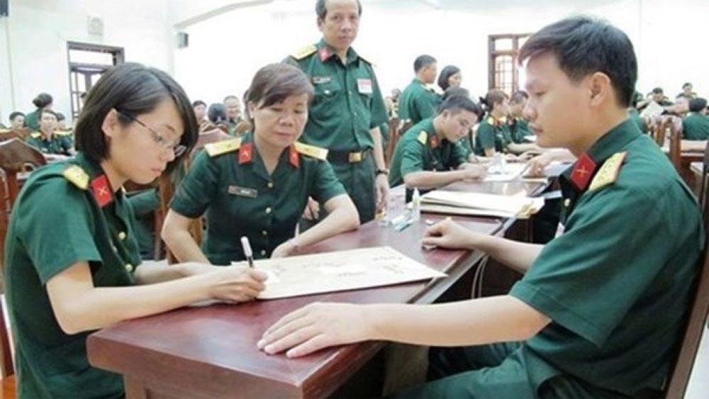 Các trường quân đội chỉ nhận thí sinh đăng ký nguyện vọng 1